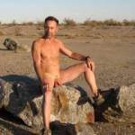 Hiking naked in AZ as a True Nudist enjoying life,,,,