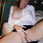 Rubbing myself showing a new guy my pussy.