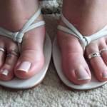 It's my girls friend feet