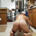 comfortable working naked.