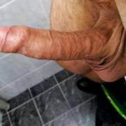 Thick dick needs a place to cum in