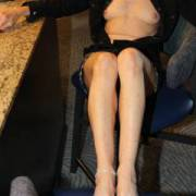 black lingerie feets legs and very horny for hard dicks 1