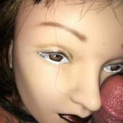 Giving my dummy a little dick