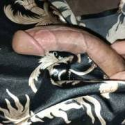 Laying around in my bathrobe playing with my dick