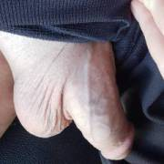 Veiny semi all day as i sit at home on conf calls....any ladies wanting to take some dick-tation for me?