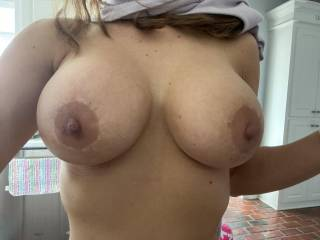 Wife got her second boob job and went even bigger!