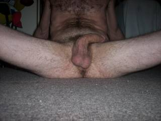 I would love to suck your nuts and your cock.