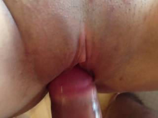 A hot cumshot!! Her pussy was so incredible, sucking the cum out of me!!! Am I lucky or what??!!