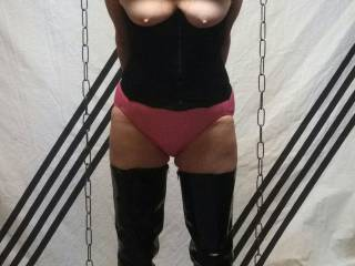 Some bondage fun with the wife..