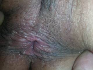 she needs my tongue in that beautiful little asshole giving her a super fantastic rim job through her orgasm