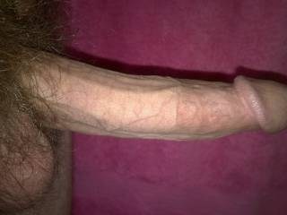 I see a nice long thick cock with a big mushroom head...mmmmm makes my mouth water and virgin ass pucker for it