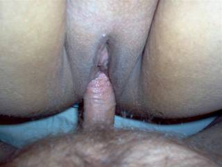 love to be 69ing her while you fuck her. Me sucking on her clit, her taking my cock balls deep and you fucking her good and proper
