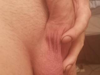 Rubbing my cock like this makes me cum also