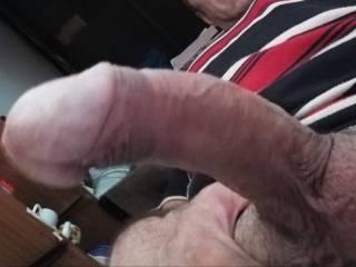 Do you like My Big slightly curved cock??