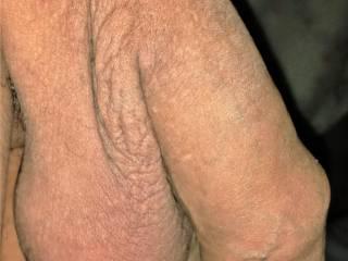 uncut flaccid penis