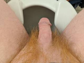 Just taking a break from work. I had a quick wank  but didn't  Make video of it