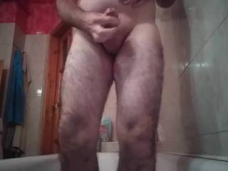 My lustful masturbation with my thick dick!