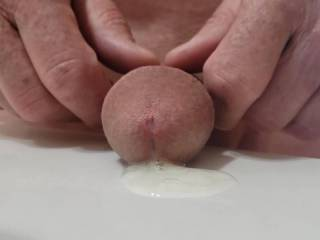 POV big cum load after days of abstaining from sex