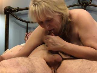 I want more cock! Having a cock in my mouth is something this married woman loves. And to swallow all of your love juice... Mmm...