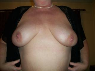 Well how's this then...that's a lovely small one, would she like a much bigger pearl neckless, I can certainly oblige!