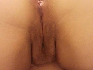 mmm i want that luscious gorgeous wife cunt to fuck deep and hard and fill with spurting loads of my cumin and  all over that sweet tight asshole to use  as lube to open that beautiful asshole up for a dicking ! great wife pussy and asshole pic so want to ....