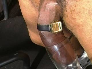 10 inches of dangling wrist thick dick