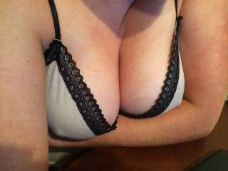 stunning, love your sexy boobs, and that little hint of nipple is such a turn on
