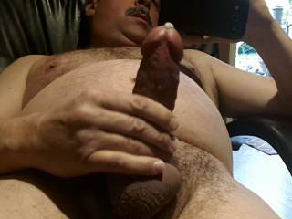 Love to suck your big thick cock off then swallow your thick hot load!!!