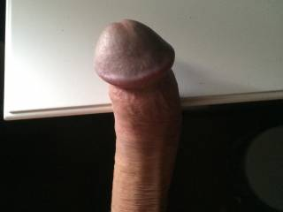 dick is hard as wood. waiting for the wife to get suck it, then I fuck her wonderful hairy pussy ..