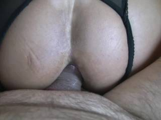 So Hot!! I would have left my cock deep inside her tight bum hole and filled her with my hot spunk.....xxxx Lovely stuff.