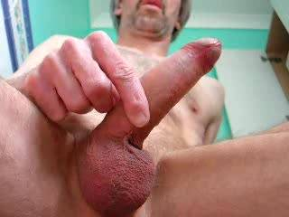 very nice cock and balls...liked all that cum you shot too