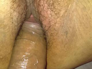 Mexican BBW Im fucking. She juicy squirter