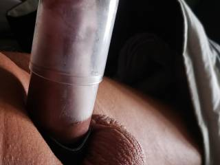 Just pumping my sweet cock