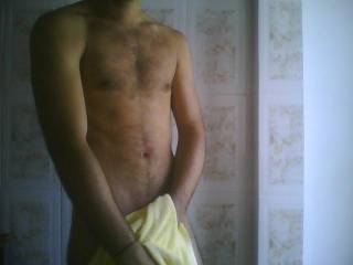 Hi ,great body, would love to see some nude cock. be brave and proud of your body