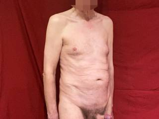 Thank you for adjusting my foreskin. Would you like to suck on my shiny, swollen head for a little while and we can then see how things develop?