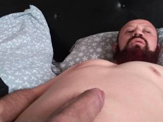 My tired cock after getting some ass last night!