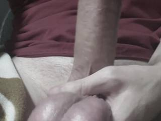 Six days without release here, and the following day (the day I\'m posting this) was one full week of cum saved up that I got to release into my Latina hotwife lover three times, first two deep in her pussy, third one in her mouth as I titfucked her.
