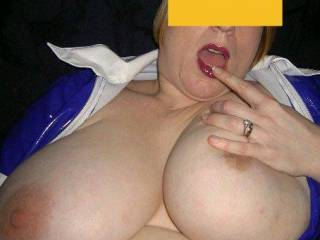 I think I need to shoot my load all over those big, sexy tits ... that would make me feel a lot better