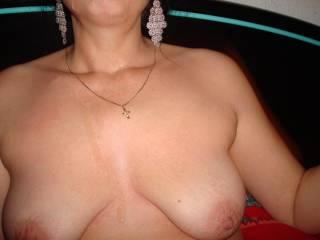 I'd like to cum on those nice tits.
