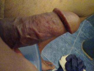 Erect penis need surfing in wet hole or thonge