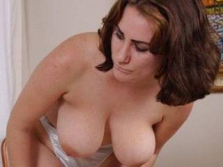 Wonderful tits! I wish they were hanging over my face!