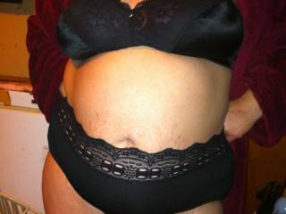 Love a woman in her bra and panties especially if she is on her knees pleasing another man with her mouth.