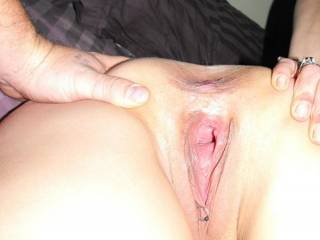 I would drizzle a hot load of cum right in that yummy asshole