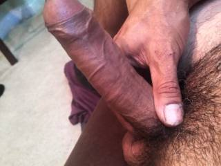 Im redy to have a female slow suck my cock..