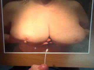 Another big tit cum request! I love big tits but any woman out there have small tits? I would love to cum on a nice set of small tits