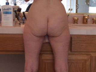 If I bend over and spread my legs, what would you like to do to me?  From Mrs. Floridaman