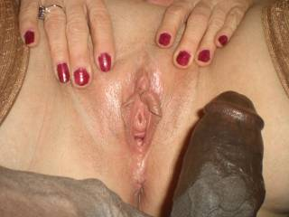 After BBC- my husbands cock hasn\'t fit for many years, my pussy is fitted for LARGE black cocks!