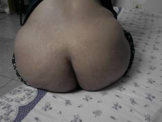 I wish she would sit that beautiful ass down on my hard cock