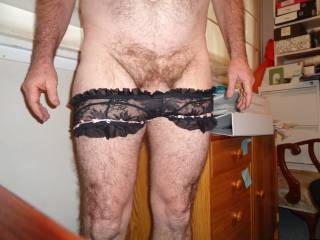 I love wearing ladies underwear,,, ever since I was 19 its been an interest or hobby (or kink) of mine & I enjoy showing myself off in sexy ladies panties