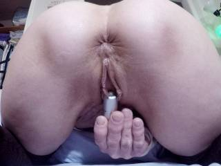 """My neighbor cum over to fuck around with me right after my ol man left for work (like he usually does), butt showed up again later that afternoon """"to take a few pictures"""" he said."""
